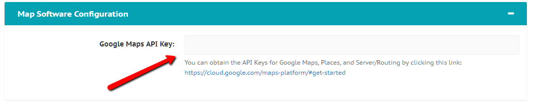 Gazoop - Why must I provide a Google Maps API Key?
